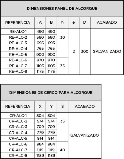 alcorque-tabla